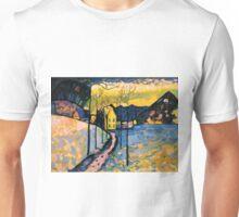 Colourful Landscape Kandinsky Painting Unisex T-Shirt