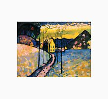 Colourful Landscape Kandinsky Painting Unisex T-Shirt