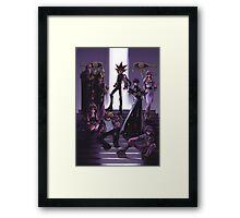 Yugioh - Group Framed Print