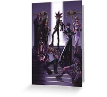 Yugioh - Group Greeting Card