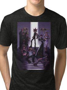 Yugioh - Group Tri-blend T-Shirt