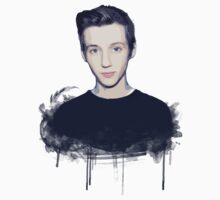 Youtuber Troye Sivan T-Shirt by ceruleann