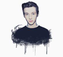 Youtuber Troye Sivan T-Shirt by ceruleann