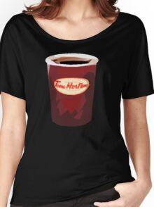 Tim Horton's Cup Vector Women's Relaxed Fit T-Shirt