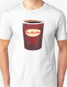 Tim Horton's Cup Vector Unisex T-Shirt