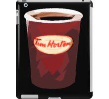 Tim Horton's Cup Vector iPad Case/Skin