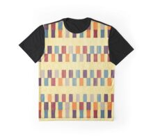 Retro rectangles pattern Graphic T-Shirt