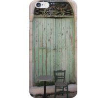 Greek Doors 1 iPhone Case/Skin