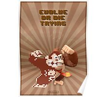 Donkey Kong Evolve of Die Trying Poster