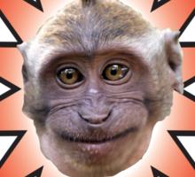 CHEEKY MONKEY Sticker