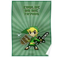 Link Evolve or die trying Poster