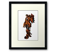 Robbie the robot boy from Submantle Framed Print