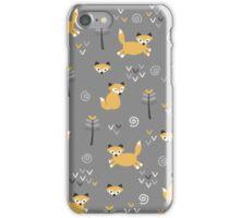 Foxy Grey iPhone Case/Skin