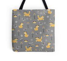 Foxy Grey Tote Bag