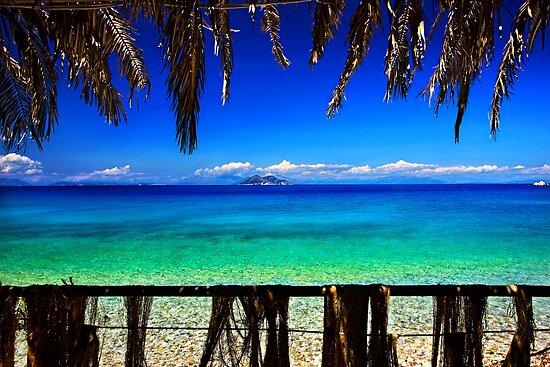 Balcony to the Ionian Sea - Ithaca island by Hercules Milas