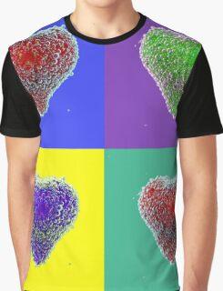 Bubbles Of Colour Graphic T-Shirt