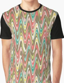Waves pattern Graphic T-Shirt