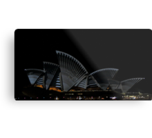 Lighting The Sails - Vivid 2014 - Inside Out Metal Print