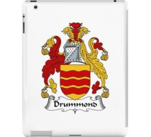 Drummond Coat of Arms / Drummond Family Crest iPad Case/Skin