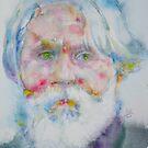 IVAN TURGENEV - watercolor portrait by lautir