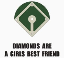 Diamonds Baseball One Piece - Long Sleeve