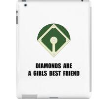 Diamonds Baseball iPad Case/Skin