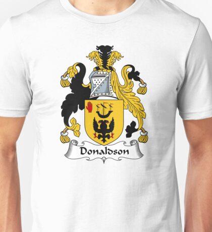 Donaldson Coat of Arms / Donaldson Family Crest Unisex T-Shirt