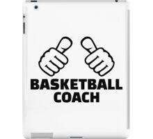 Basketball coach iPad Case/Skin