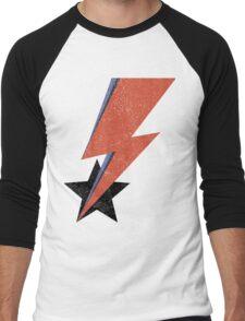 Aladdin Star Bowie Men's Baseball ¾ T-Shirt