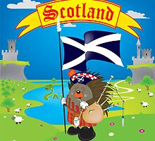 Greetings from Scotland by mangulica