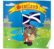 Greetings from Scotland Poster