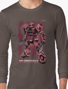 Zaku Char Long Sleeve T-Shirt