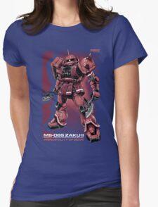 Zaku Char Womens Fitted T-Shirt