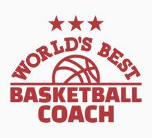World's best basketball coach Kids Tee