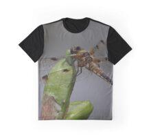 Libellula quadrimaculata Graphic T-Shirt