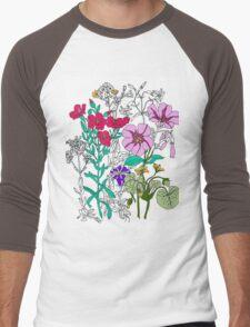 Botanical Men's Baseball ¾ T-Shirt