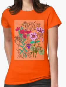 Botanical Womens Fitted T-Shirt