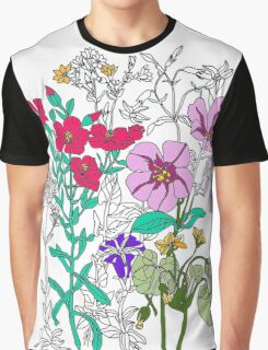 Botanical Graphic T-Shirt