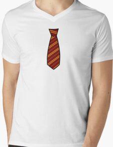 Gryffindor-Tie Mens V-Neck T-Shirt