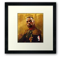 The King who became Cavalier Framed Print