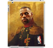 The King who became Cavalier iPad Case/Skin