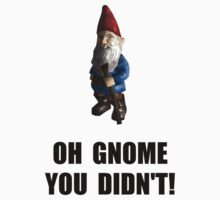 Gnome You Didnt Baby Tee