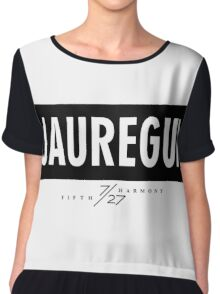 Jauregui 7/27 - Black Chiffon Top