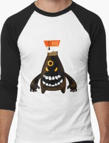 Evil Soy Sauce Men's Baseball ¾ T-Shirt