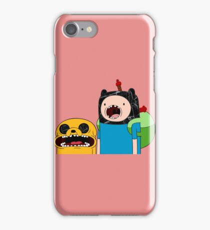 Adventure Time Jack and Finn  iPhone Case/Skin