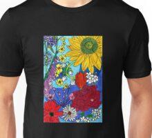 British Flowers 1 Unisex T-Shirt