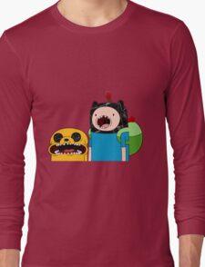 Adventure Time Jack and Finn  Long Sleeve T-Shirt