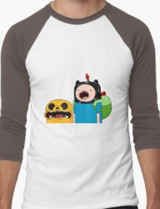 Adventure Time Jack and Finn  Men's Baseball ¾ T-Shirt