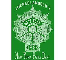 Michaelangelo's N.Y.P.D. Photographic Print