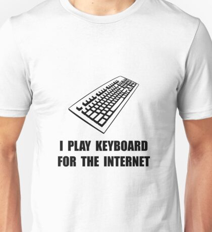 Keyboard Internet Unisex T-Shirt